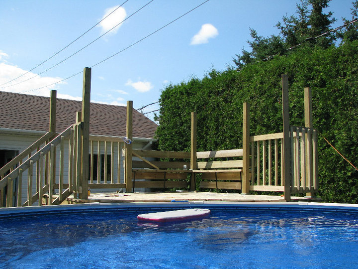 d co comment construire un deck de piscine 38 lyon On construire deck piscine